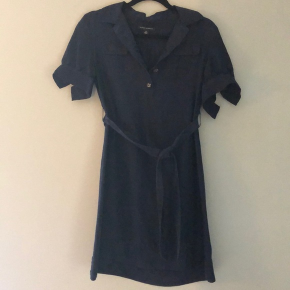Banana Republic Dresses & Skirts - Absolutely Adorable Navy Banana Republic Dress